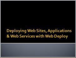 WebDeploy